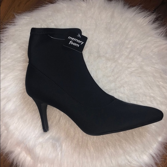 jcpenney Shoes   Jcpenny Black Booties
